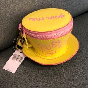 Disney tea cup spin me Clutch Wristlet NWT
